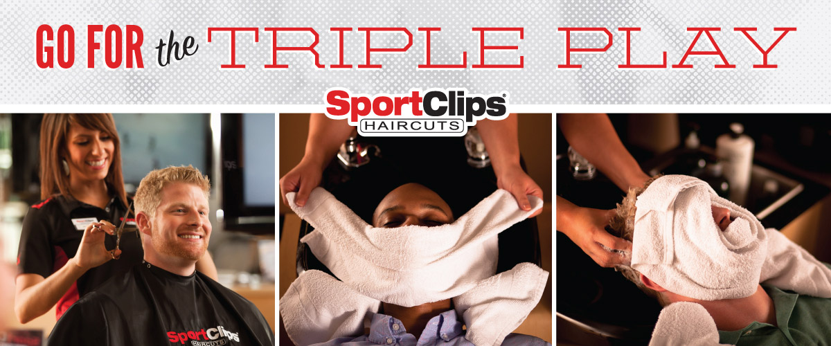 The Sport Clips Haircuts of Blue Bell Triple Play